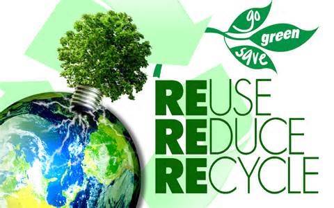 Reuse, Reduce, & Recycle - Magazine cover