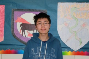 Sophomore of the Month, Jiada Zhao