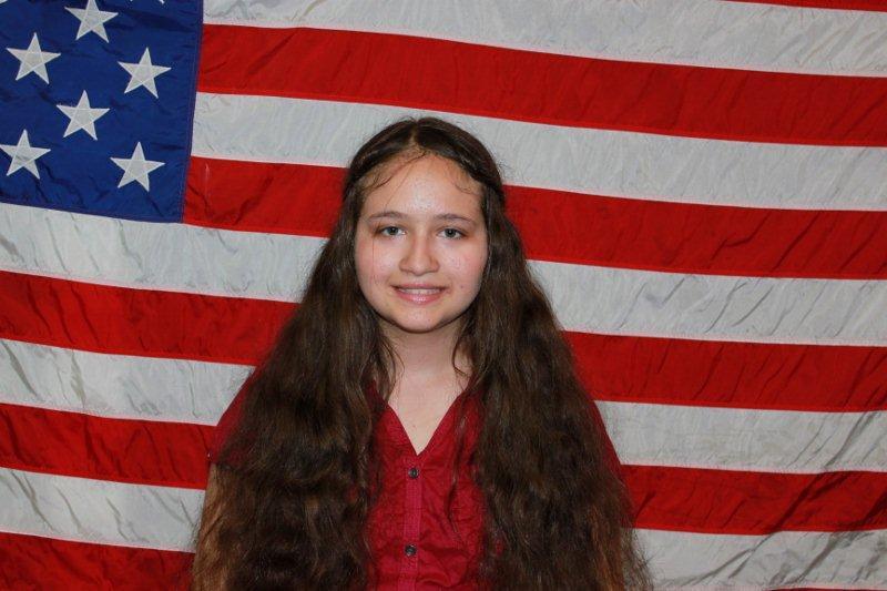 Freshman of the Month- Christine McCoy