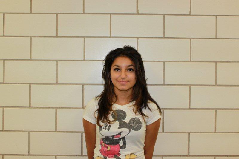 Freshman of the Month Tatiana Espinal