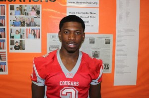 Male Athlete of the Month – Roosevelt Ettienne