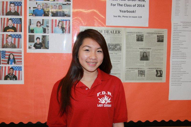 Female Athlete of the Month - Marjorie Luu