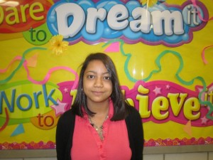 Sophomore of the Month Jennifer Garcia