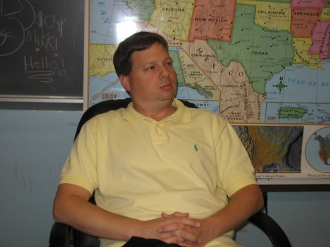 Staffer of the Month – Mr. Schmude