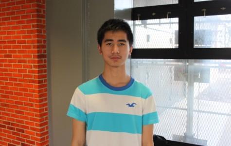 Freshman of the Month- Xin Hang Xie