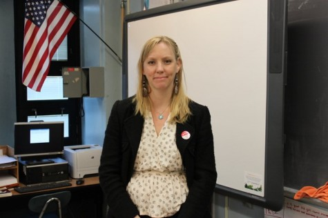 Staffer of the Month- Ms. Behrent