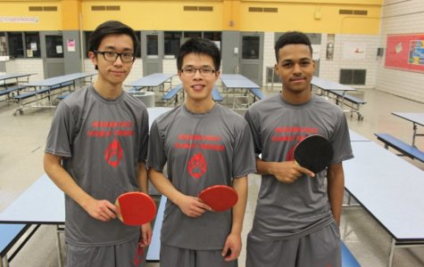 Boys Table Tennis