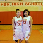 Athletes of the Month- Melanie  Nebavlakis and Jailyne Ramirez