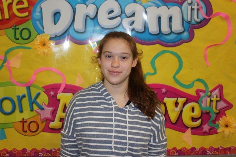Freshman of the Month- Valerie Ivannikov