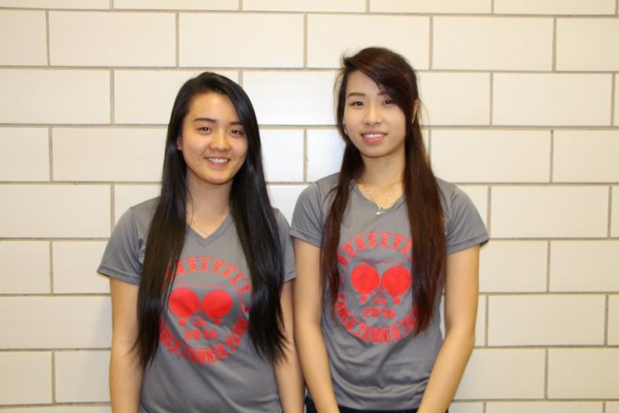 Jamie Zheng and Jiang Li - Female Athletes of the Month