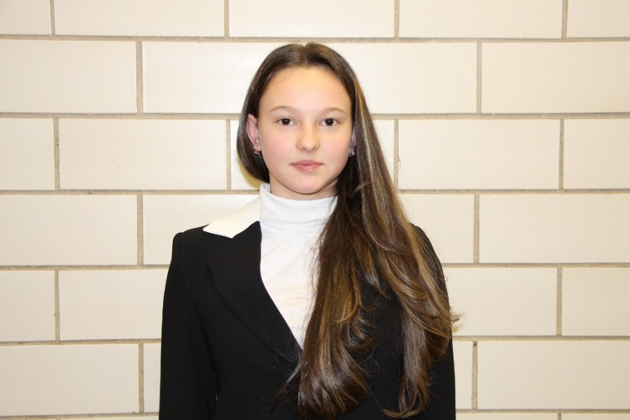 Elena Grubova- Freshman of the Month