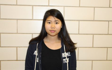 Kelly Wu -- Junior of the Month
