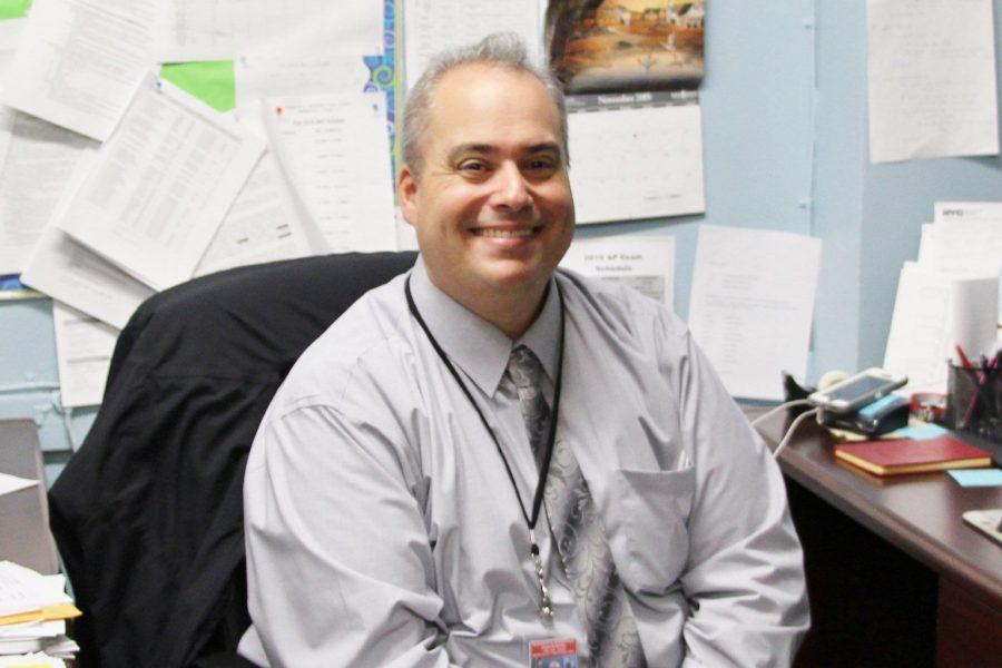Mr. Poska- Staffer of the Month