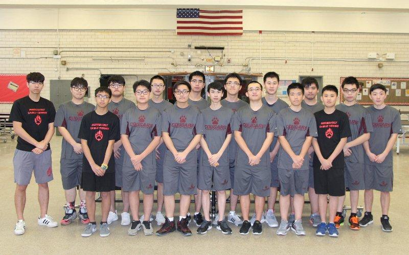 Boys Table Tennis - A Playoff Picture