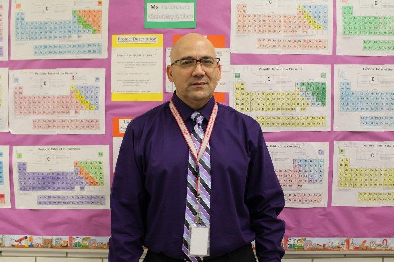 Mr. Ramirez- Staffer of the Month