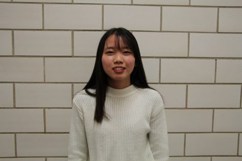 Xin Chen – Upperclassman of the Month