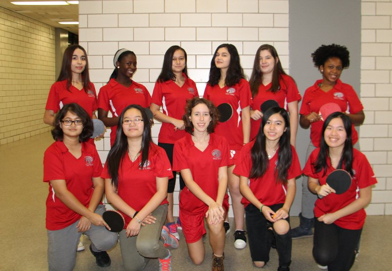 Girls Table Tennis Is Going To The Playoffs! Again!