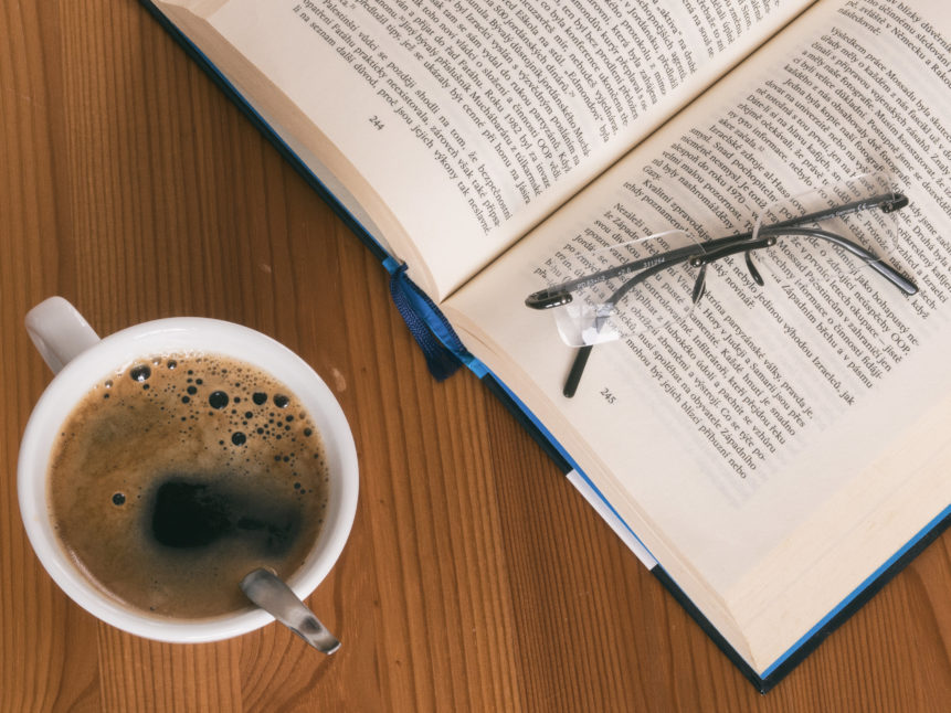 book+and+coffee