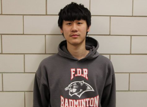 Tony Wang- Male Student/Athlete