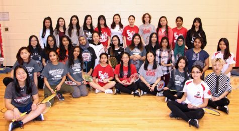 Girls Badminton Team: Always High Standards
