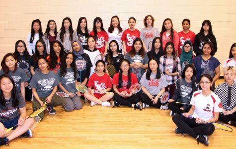 Girls Badminton Team: Always High Standards