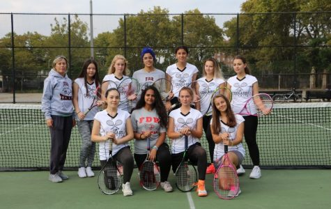 Lady Cougars Tennis Team
