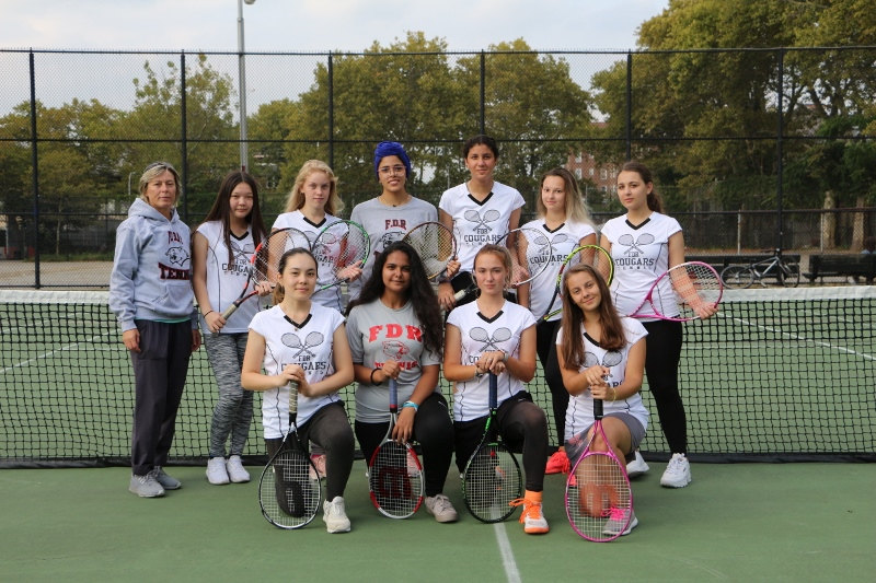 Lady+Cougars+Tennis+Team