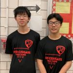 Andy Wen and Shangli Chen- Male Athletes of the Month