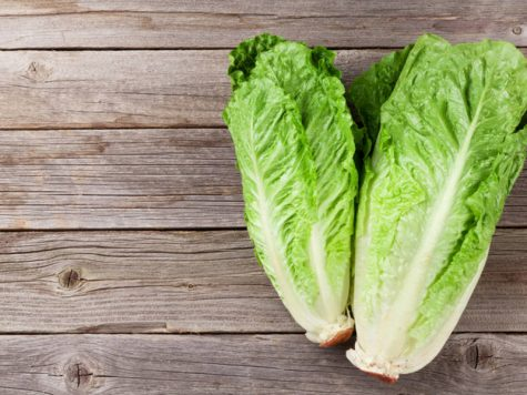 Romaine Lettuce. Could Kill You.