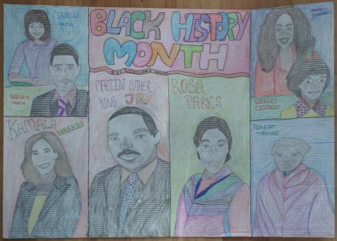 Black History Art Contest! And Brain Teaser Champ!