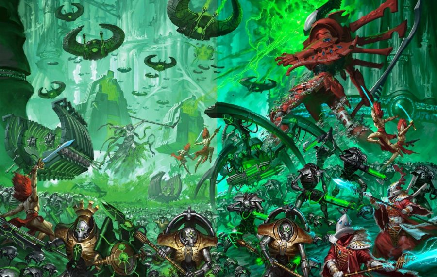The Gigantic Universe of Warhammer 40k Xenos - Part 1